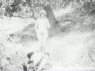 Piss: antiek porno 1915 - een gratis rit