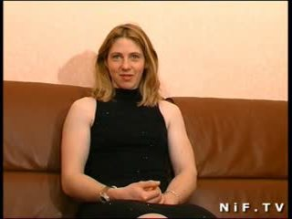 Young french slut sodomized and cum covered