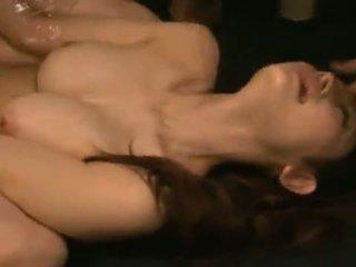 Smut azumi mizushima has שלה פה ו - ג'ונגל banged brutally