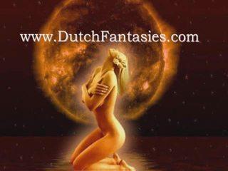 Olandese trio con two caldi babes