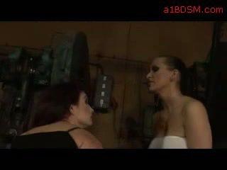 online bdsm film, vol borsten, echt slavernij