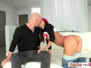 हॉट एशियन टीन alina li loves केसी विशाल कॉक pummels उसकी टाइट पुसी