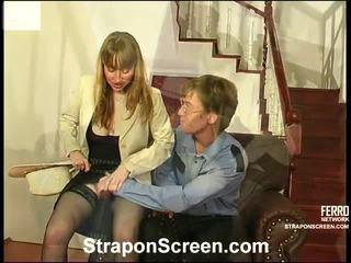 alle strap-on film, heetste strap on bitches film, vrouwelijke dominantie kanaal