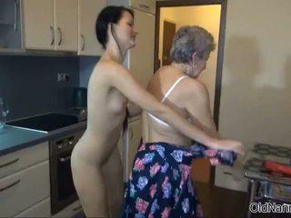 überprüfen oma, frisch lesbisch, frisch reifen ideal