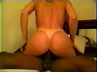 Interracial cuckold anal ride vintage retro