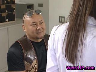 qualità giapponese guarda, bello orientale divertimento, caldi sesso asiatico