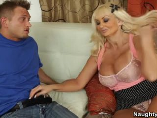 BRittany O'neil Is A Busty Cougar Who Loves Pumping