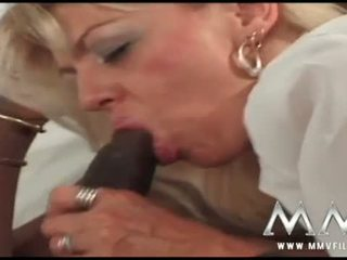 MMV Films: Retro babe Nikita ass drilled by a black man