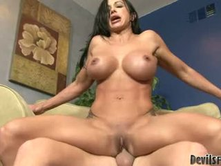 Jewels Busty Milf Drilling Hard In The Living Room