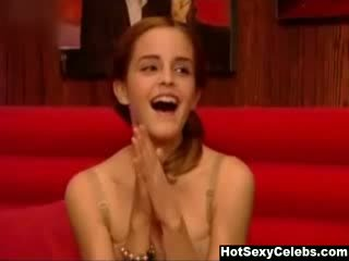 Emma Watson On Friday Night With Jonathan Ross