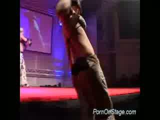 Big Juggs drunk strippers teas
