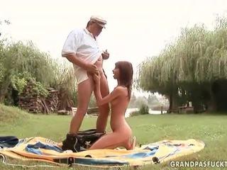 Grandpas i młody dziewczyny seks