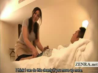 Subtitled японки милф masseuse indecent хотел масаж