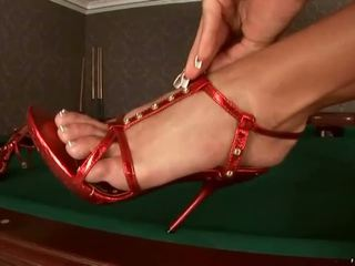 voet fetish film, sexy benen, voet aanbidding