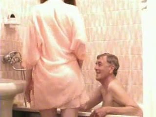 hot big tits video, quality bathroom fucking, bathing action