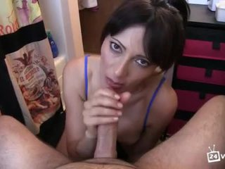een oraal video-, gratis blow-job, groot de hand-job