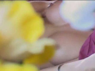 heet brunette video-, jong gepost, heetste hardcore sex scène