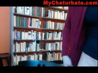 Another Masturbator In The Library 1