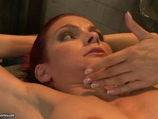 Mandy kirkas fingered suuri a constrained smut bitch