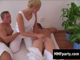 Free girl giving hand job sample
