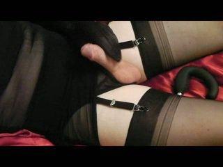 real crossdresser porno, cumshot action, masturbation