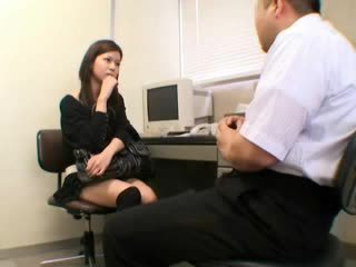 japansk, voyeur, exotiska, avsugning