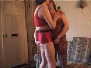 Shameless crossdressers dalam panas video