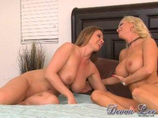 free brunette vid, pussy licking video, lesbians