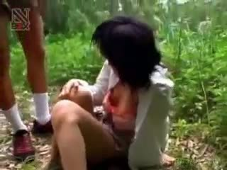 Aziatike nxënëse turned seks skllav gets e abuzuar e pacensuruar