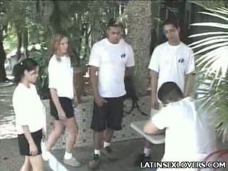 Quente latim gaja adolescentes hardcore foda