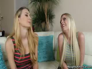 new blowjob posted, hot threesome action, check blonde clip