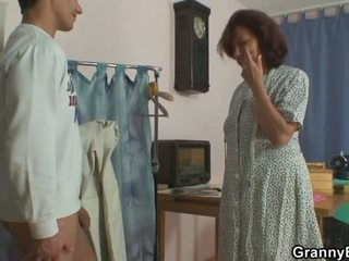 een realiteit gepost, u oud neuken, nieuw grootmoeder video-