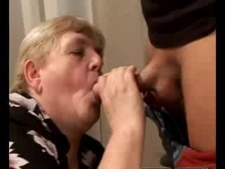 old, gilf, tittyfucking, grandma