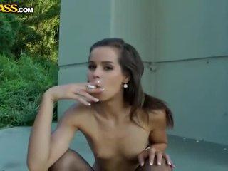 Exotic Small Tits Beauty Striptease In Public