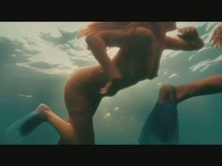 Kelly Brook Bares Awesome T&A For Some Underwater Lesbo Process