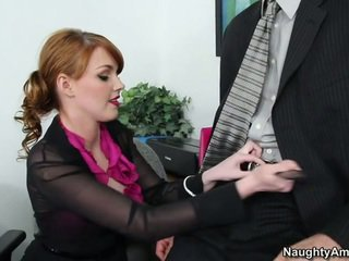fun secretary thumbnail, great office fuck sex, online office blowjob scene