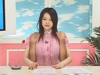 Azumi mizushima tin tức reporter quái