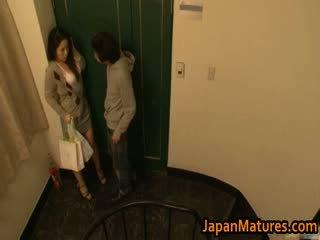 Ayane asakura vyzreté ázijské modelka has sex