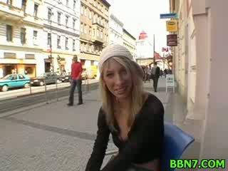amazing girl gets fucked Doggy style