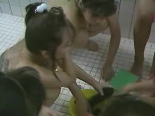 szopás, cumshots, group sex, kínai