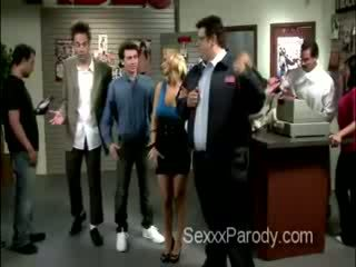 Another hot scene with bitches in Seinfeld XXX parody