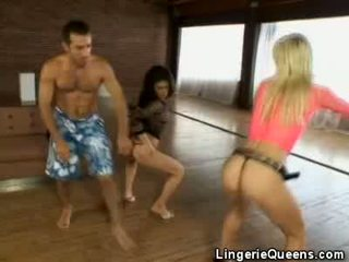 Aerobics ve lingeries