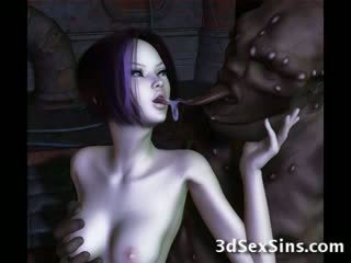 Ogres nailing 3d elf дівчинки!