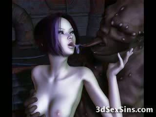 Ogres nailing 3d elf filles!