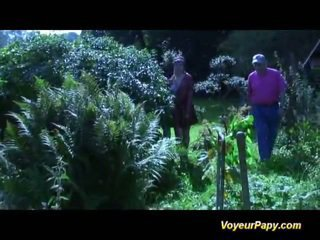 Forest Three Some Nearly Papy Screwing Girl