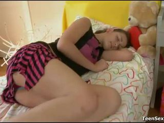 bedroom sex, mooi slapen thumbnail, plezier sleeping porn video-