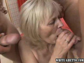 My chcieć do grupa seks swój babunia #04