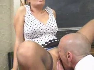 British Busty Alexis May gets fucked as a teacher Video