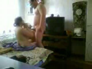 vol met porno, vers vriend video-, thuis neuken