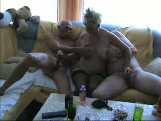 Mature Bisexual Threesome Video